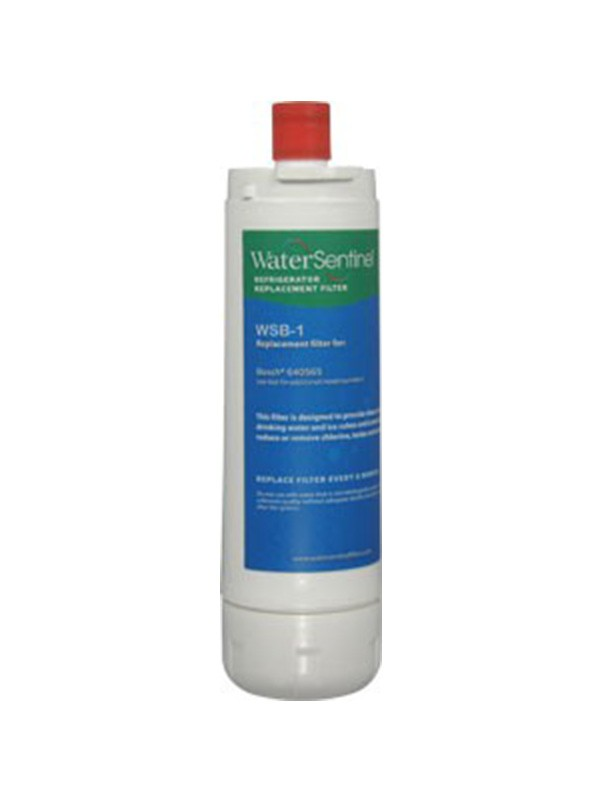 The WaterSentinel™ refrigerator water filter WSB-1